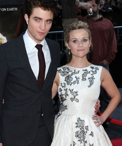 Robert Patterson and Reese Witherspoon
